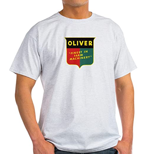 Amazon.com  CafePress Oliver Tractor Light T-Shirt Cotton T-Shirt ... 092a73d88359