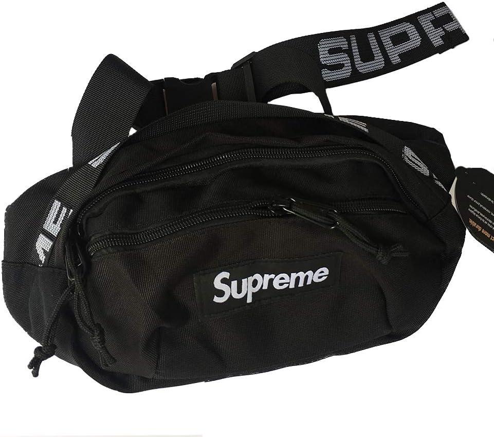 PPY Fanny Pack New Travel Bum Bags Running Pocket Sports Waist Bag for Men Women 17fx Black