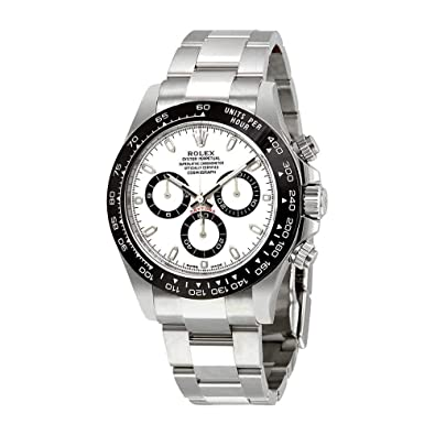 1665ee987a388 Rolex Cosmograph Daytona Stainless Steel Black Ceramic Bezel 116500LN |  Amazon.com