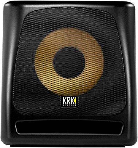 "KRK 10S2 V2 10"" 160 Watt Powered Studio Monitor Subwoofer 16"