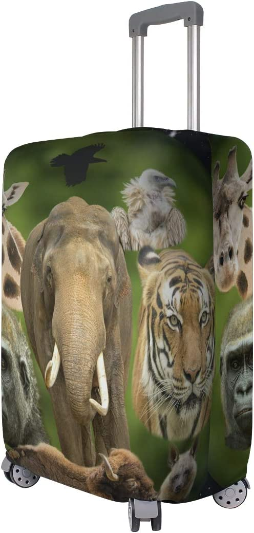 FANTAZIO Animal Planet Suitcase Protective Cover Luggage Cover