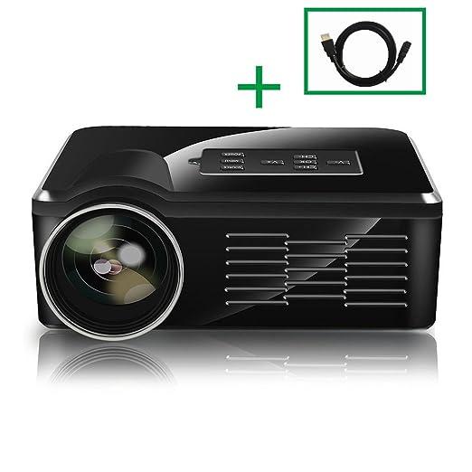 yaufey LED proyector BL35 Mini proyector Micro Cine en casa Media ...