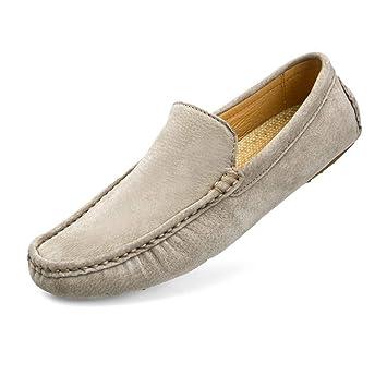 HhGold Mocasines para Hombre Zapatos, Minimalismo para Hombre Mocasines Color sólido Penny Mocasines Ligeros (