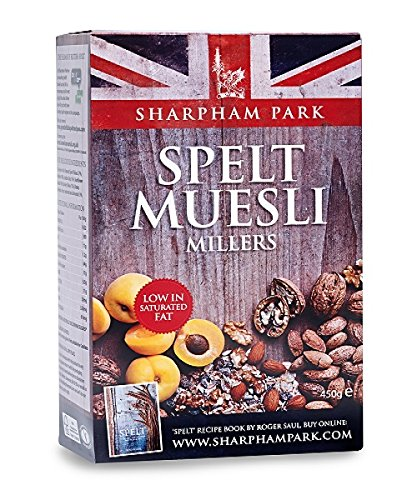 Sharpham Park Organic Spelt Miller's Muesli 450 g (Pack of 2) by GroceryLand