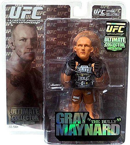 Round 5 UFC Ultimate Collector Series 6 LIMITED EDITION Action Figure Gray The Bully (Ufc Action Figure Series)