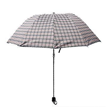 XG Moda paraguas paraguas de vinilo transparente paraguas plegable de hielo protector solar UV verano