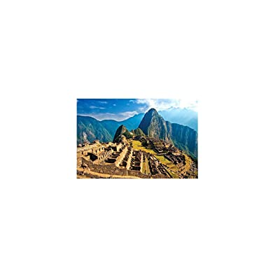 Meikosks 1000 Piece Jigsaw Puzzle Adults Puzzles Gift for Kids Famous Building - Machu Picchu: Toys & Games