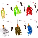 FREE FISHER 6Pcs Various Fishing Lure...