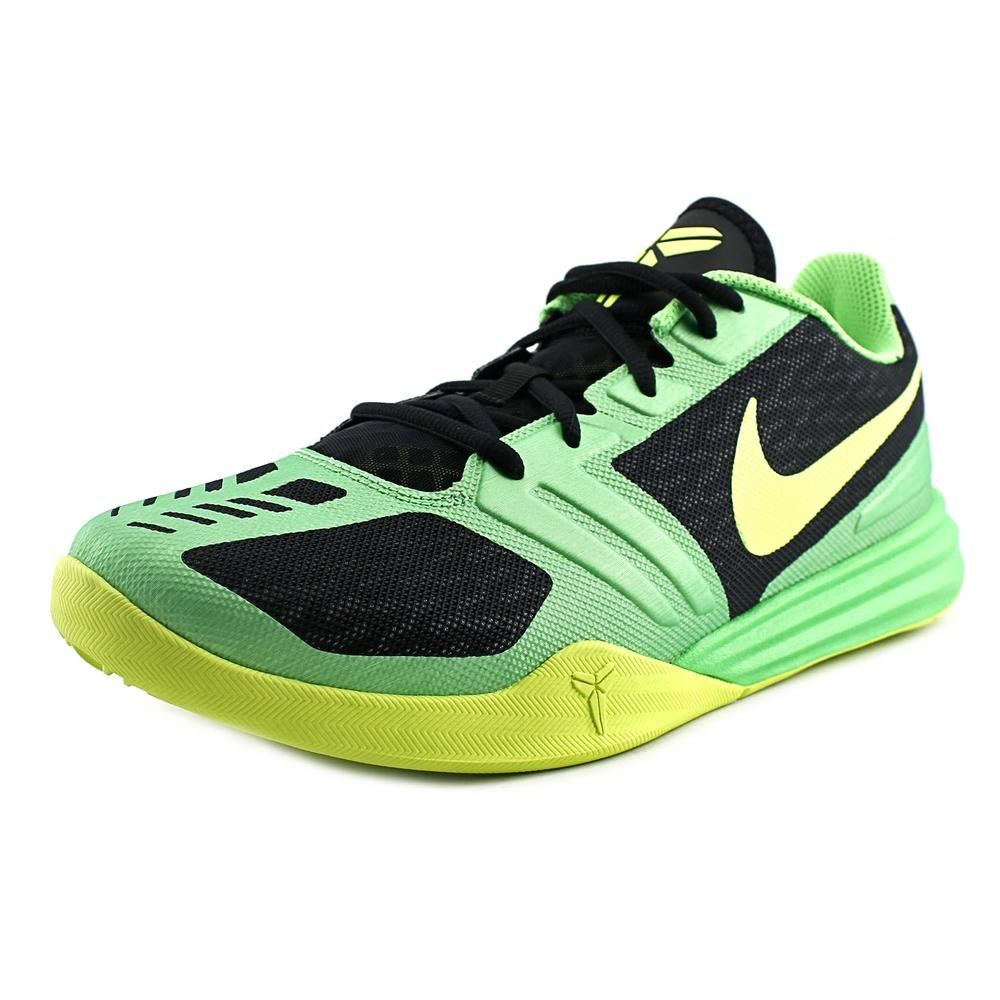 7640b5330f03 Galleon - Nike Kobe Mentality Men s Basketball Shoes 704942-001 Black  Poison Green-Volt 9.5 M US