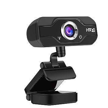 AOGUERBE Webcam HD , Cámara Web USB 720P Full HD con Camera Web de Alta Definición