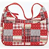 Bella Taylor Poppy Plaid Quilted Cotton Sydney, Bags Central