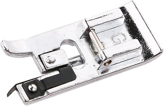 WINOMO modelo G interruptor de hilo de máquina de coser overlock pie prensatelas para Brother/Singer/Babylock/Janome/Kenmore: Amazon.es: Bricolaje y herramientas