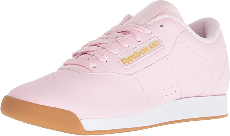 Reebok Princess Sneakers Damen Rosa/Weiß/Gold Metallic