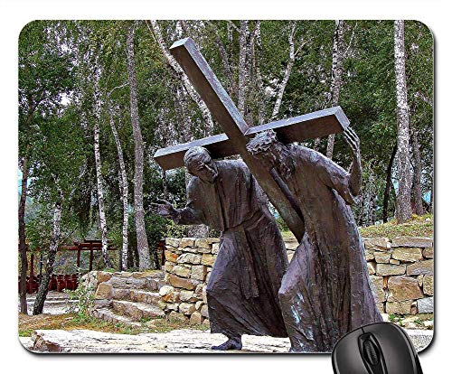 - Mouse Pads - Stations of The Cross Pasierbiec City Cross Jesus