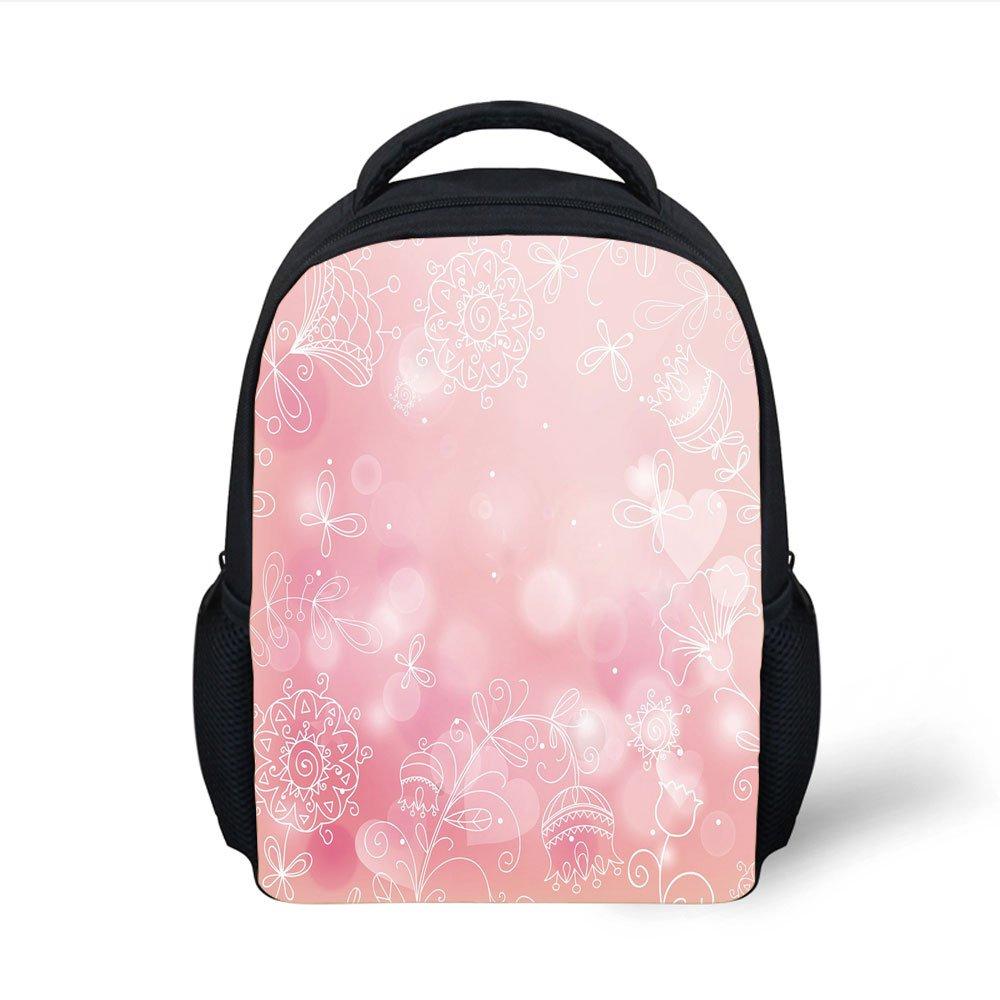 Amazon.com  iPrint Kids School Backpack Light Pink 1e82a784b2c17