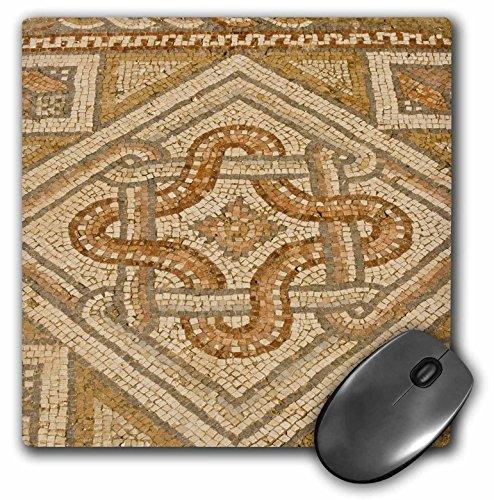 3Drose Llc 8 X 8 X 0 25 Inches Mouse Pad  Jordan  Jerash  Mosaic  St John The Baptist Church   Dave Bartruff  Mp 71110 1