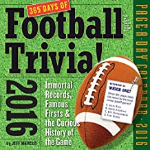 365 Days of Football Trivia! Page-A-Day Calendar 2016