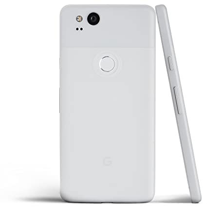 size 40 bb278 399b6 Pixel 2 Case, Thinnest Cover Premium Ultra Thin Light Slim Minimal  Anti-Scratch Protective - for Google Pixel 2 | totallee (Frosted White)