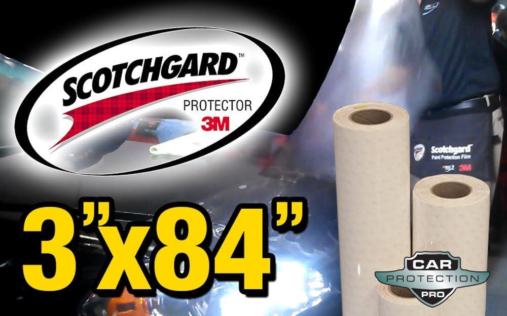 "Genuine 3M Scotchgard Paint Protection Film Clear Bra Bulk Roll Film 4/'/' x 84/"""