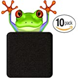 WebCam Cover Cell Phone Camera Blocker - Laptop and Tablet Webcam Covers (Black)