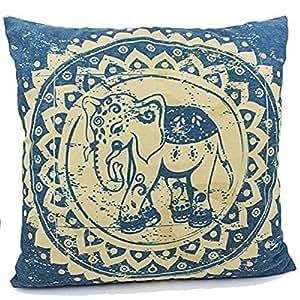 Kieffer shop Lucky Elephants5 18*18 inch cotton pillowcase