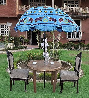 Decorativo al aire libre jardín paraguas sombrilla grande 133 x ...