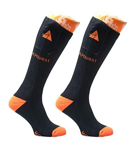 Alpenheat AJ18 Fire-Sock Light - Calcetín calefactable: Amazon.es: Deportes y aire libre