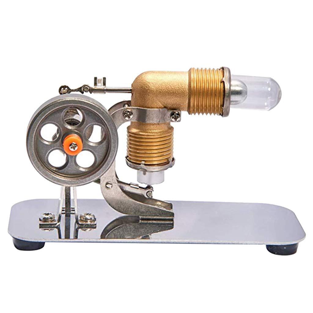 IPOTCH Niedrige Temperatur Stirling Motor Motor Modell Dampf Wärme Pädagogisches Modell Spielzeug