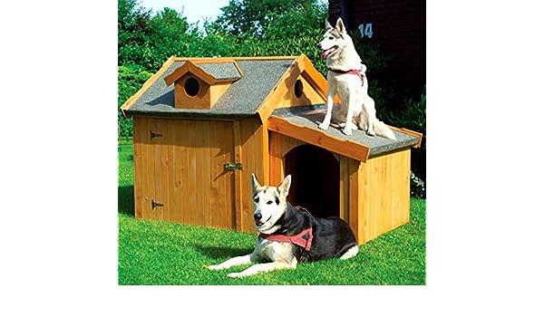Caseta Max Incluye Cultivo aislado impermeable Perros Casa cabaña perro: Amazon.es: Productos para mascotas