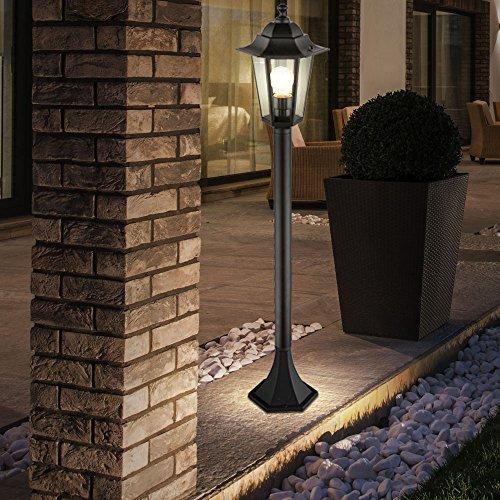 Lampadaire Del Luminaire Sur Pied Lampe Led Terrasse Eclairage