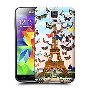 Unique Phone Case Jade Eiffel Tower in Paris Hard Cover for samsung galaxy s5 cases-buythecase