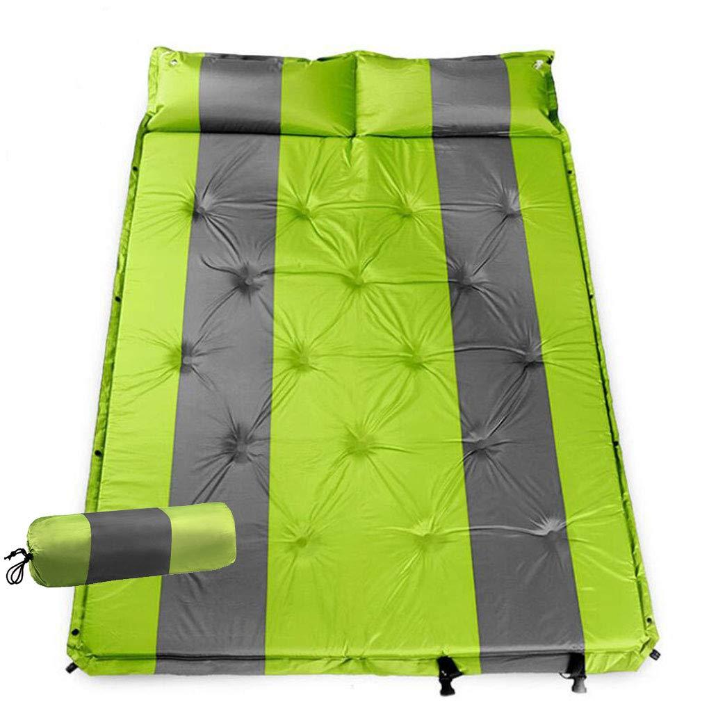 GOFEI Aufblasbare Matratzen Doppel Selbstaufblasende Matratze Komfortable Nähte Isomatte Camping Für Camping Wandern Camping