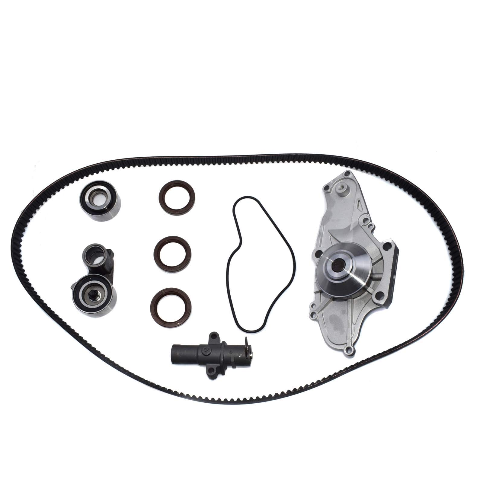 Timing Belt Water Pump Kit For Honda Acura MDX RL TL 14400-RCA-A01 14520-RCA-A01 by eGang Auto