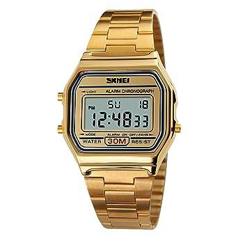 d13b6660b0 Rockyu ブランド レディース メンズ 腕時計 オシャレ 日付 サファイアガラス 海外ブランド メンズ時計