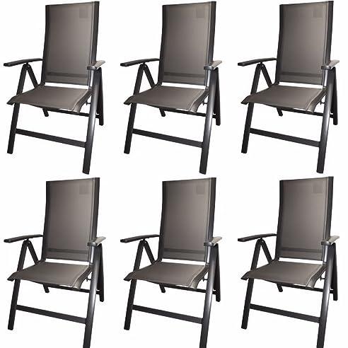 klappstuhl alu garten. Black Bedroom Furniture Sets. Home Design Ideas
