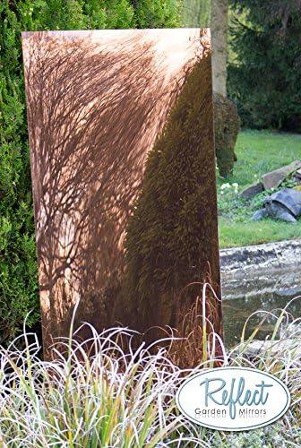 Primrose Reflect Espejo de Bronce de roturas de acrílico de jardín no Hojas, 6ft x 2ft 6in: Amazon.es: Hogar