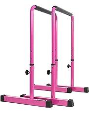 POWER GUIDANCE - Dip Bar - Einstellbare Höhe 76cm - 98cm Ganzkörper-Krafttraining 3 Farben