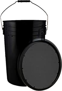 Champion Sports Soft Seat Lidded Baseball Buckets and Bucket with Baseball Combination Sets – Available in Multiple Colors and Sets