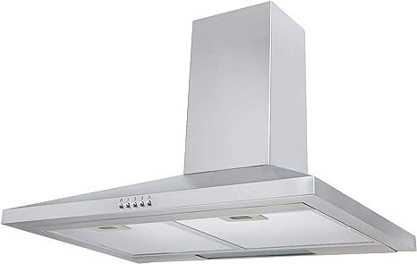 Campana extractora para cocina Sia, VI71SS, 70 cm, acero inoxidable: Amazon.es: Grandes electrodomésticos