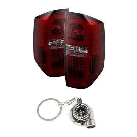 Amazon.com: Toyota Tundra Light Bar LED Tail Lights Red And ...