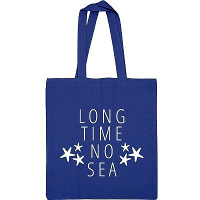 Long Time No Sea Sport Beach Bag: Liberty Bags Canvas Tote Bag