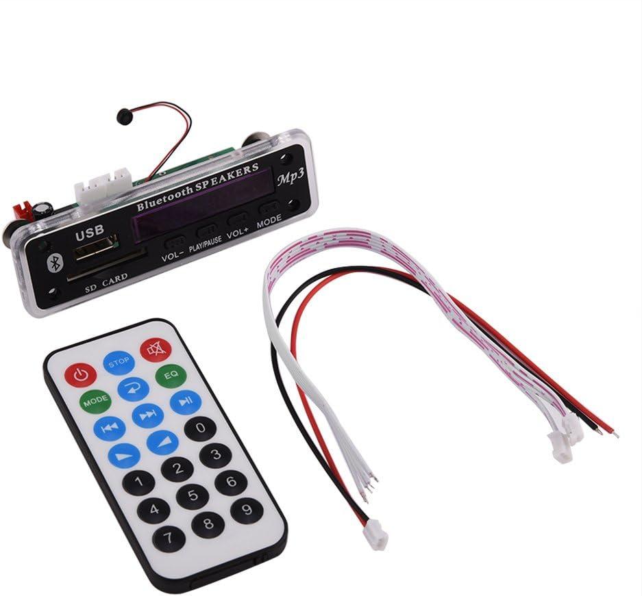 Drahtloser Mp3 Wma Decoder Bluetooth Audio Decoder Karte Sound Modul Usb Sd Fm Radio Mp3 Decoder Mit Fernbedienung Audio Hifi