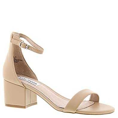 fa768ded11 Steve Madden Women's Irenee Ankle Strap Sandals: Amazon.co.uk: Shoes ...
