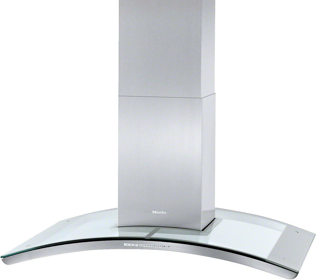 Miele DA 5106 D EXT Isla Acero inoxidable A+ - Campana (Canalizado, A, 45 cm, 65 cm, Isla, Acero inoxidable): Amazon.es: Hogar