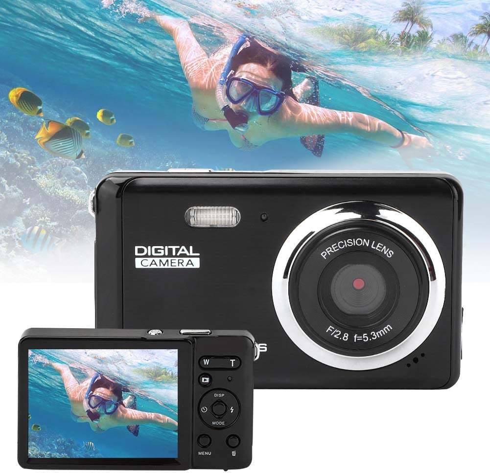 Portable Multi-Function Digital Video Camera,FHD 1080P Outdoor 4X Zoom 800W COMS Camcorder with 3in TFT LCD Screen for Travel 511MgAalgEL