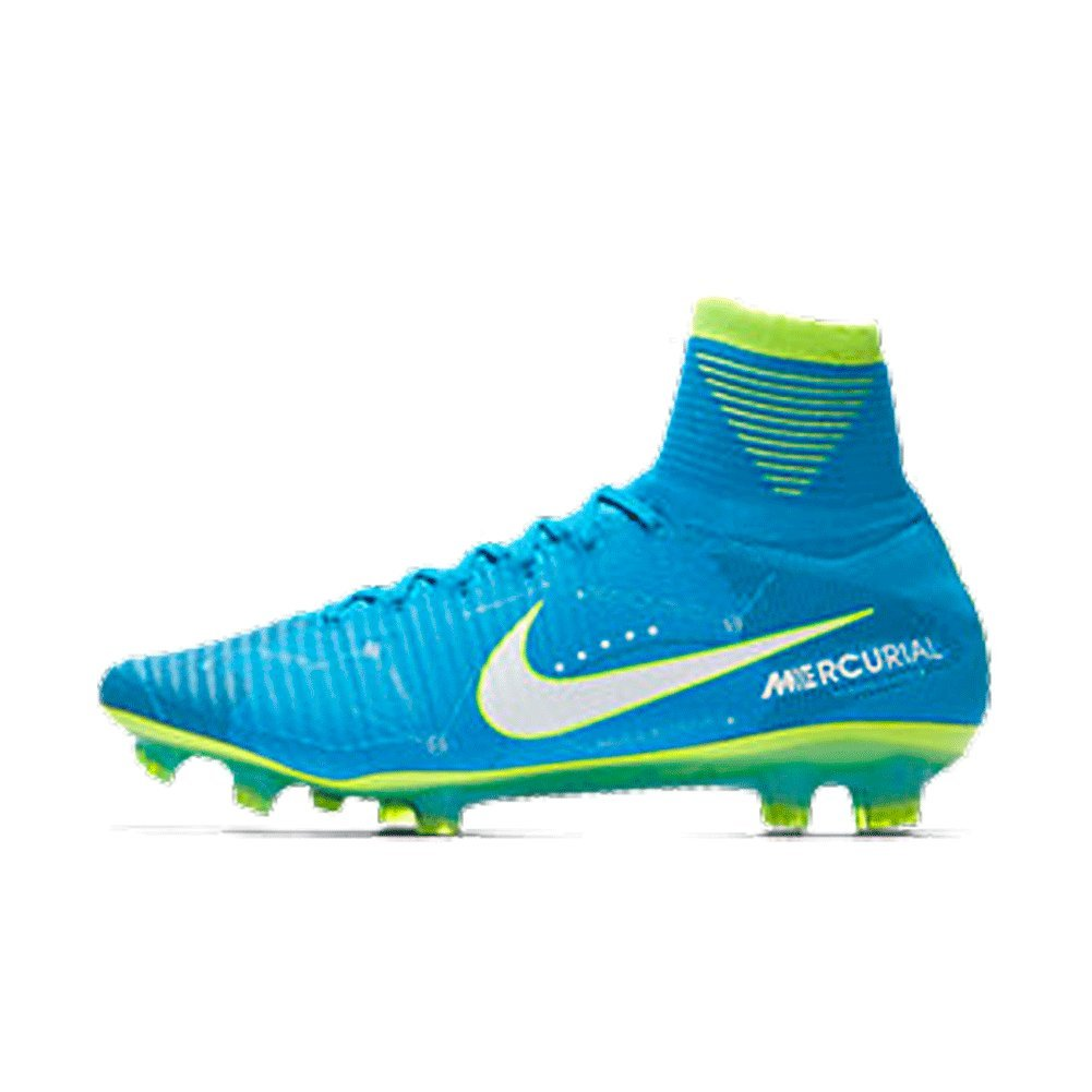 cheap for discount 7d13d d6b13 Amazon.com   Nike Mercurial Superfly V Dynamic FIT Neymar FG Blue Orbit  Size 13   Soccer