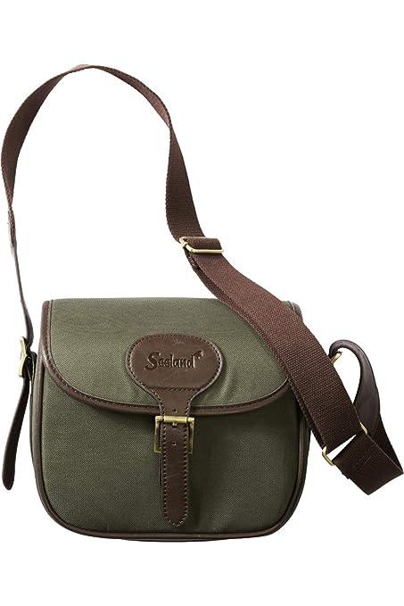 Seeland - Bolsa para cartuchos de caza (125 cartuchos), color verde y marrón