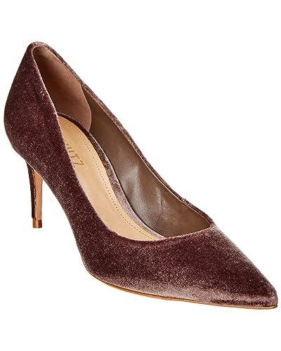 f23fc98629fa0 Amazon.com: SCHUTZ Lola Velvet Pump, 8.5, Brown: Shoes