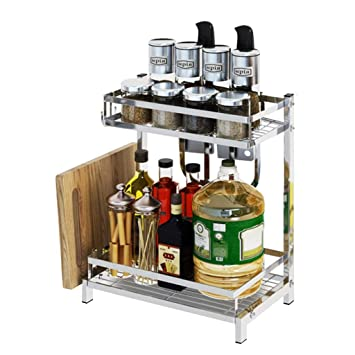 Portaspezie Cucina Rack per spezie angolari, bancone da Cucina ...