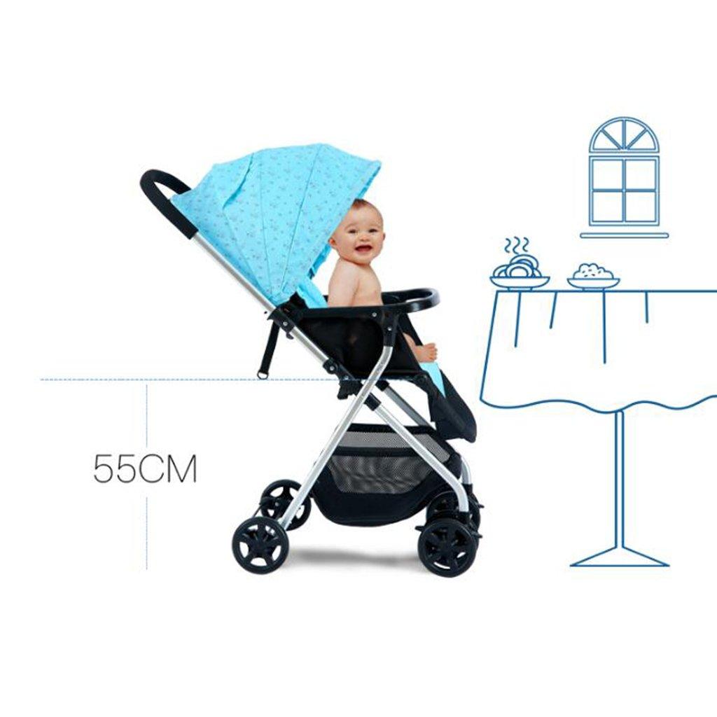 Cochecito de bebé Paisaje alto puede sentarse Horizontal ...